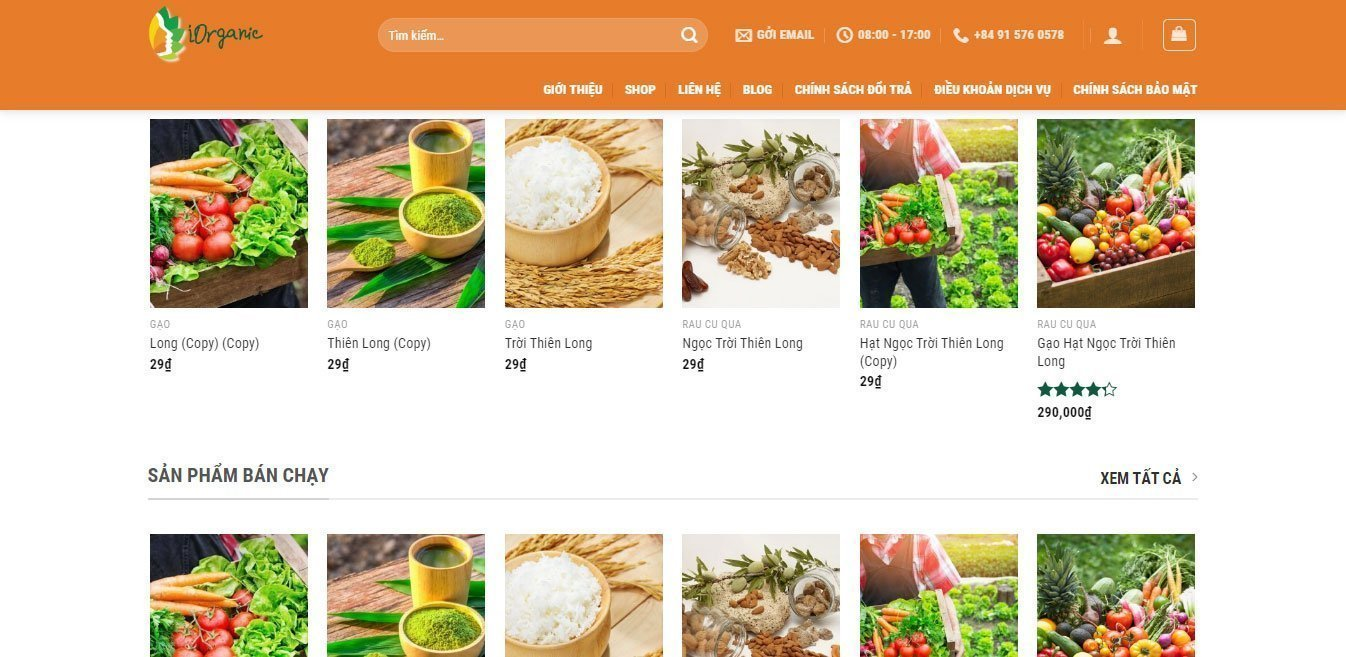 iorganic-food-health-store-website-designed-by-helixgram-design-professional-web-design-and-development-WordPress-web-design-helixgram-saigon-website-design
