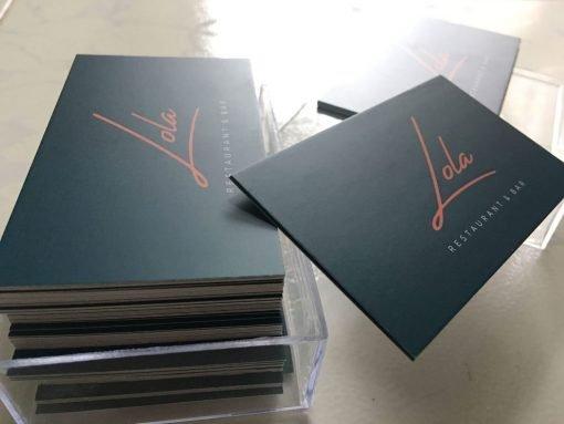silk-laminated-business-card-printing-helixgram-design-graphic-design-printing-luxury-business-card-saigon-helixgram-design-hcm-lola-restaurant-hcm
