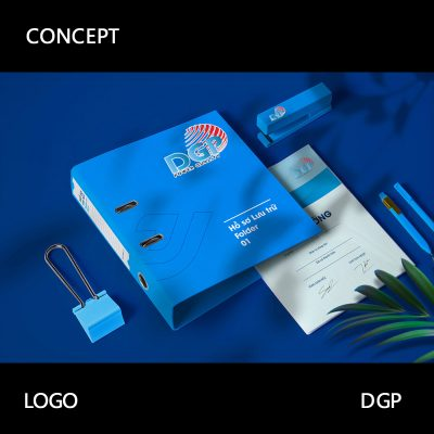 Đoàn gia phát branding logo design in Saigon brand identity package professional design and identity of vietnamese company DGP graphic design and branding printing advertising by Helixgram Design 2