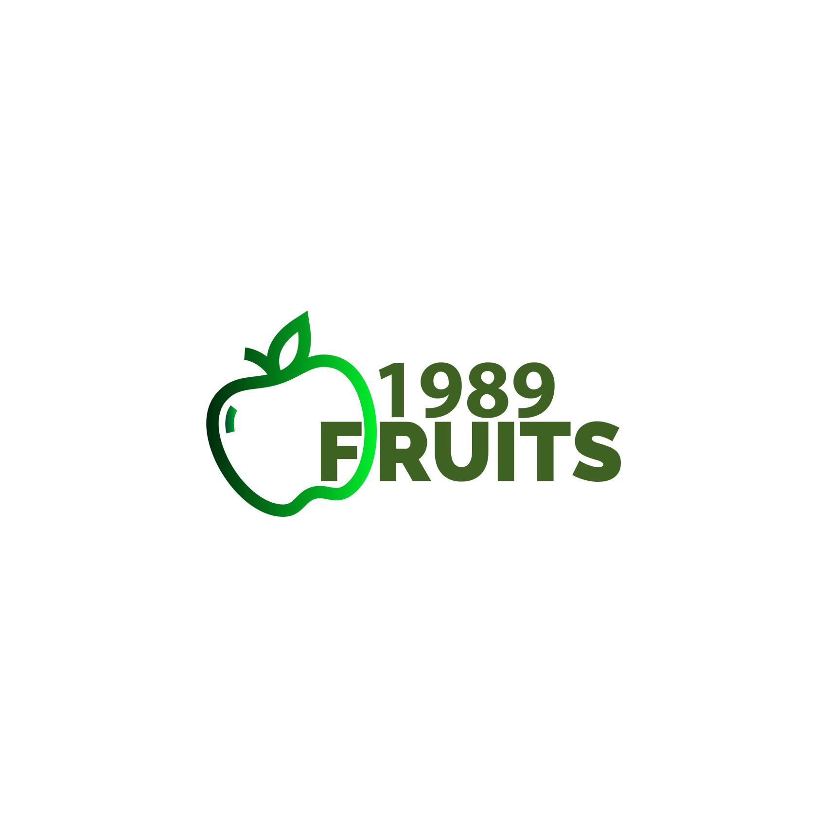 1989-fruit-logo thiết kế bởi Helixgram thiết kế logo trọn bộ nhận diện thương hiệu thiết kế hình ảnh đại diện brand identity thiết kế đồ họa in ấn quảng cáo thiết kế website WordPress Helixgram