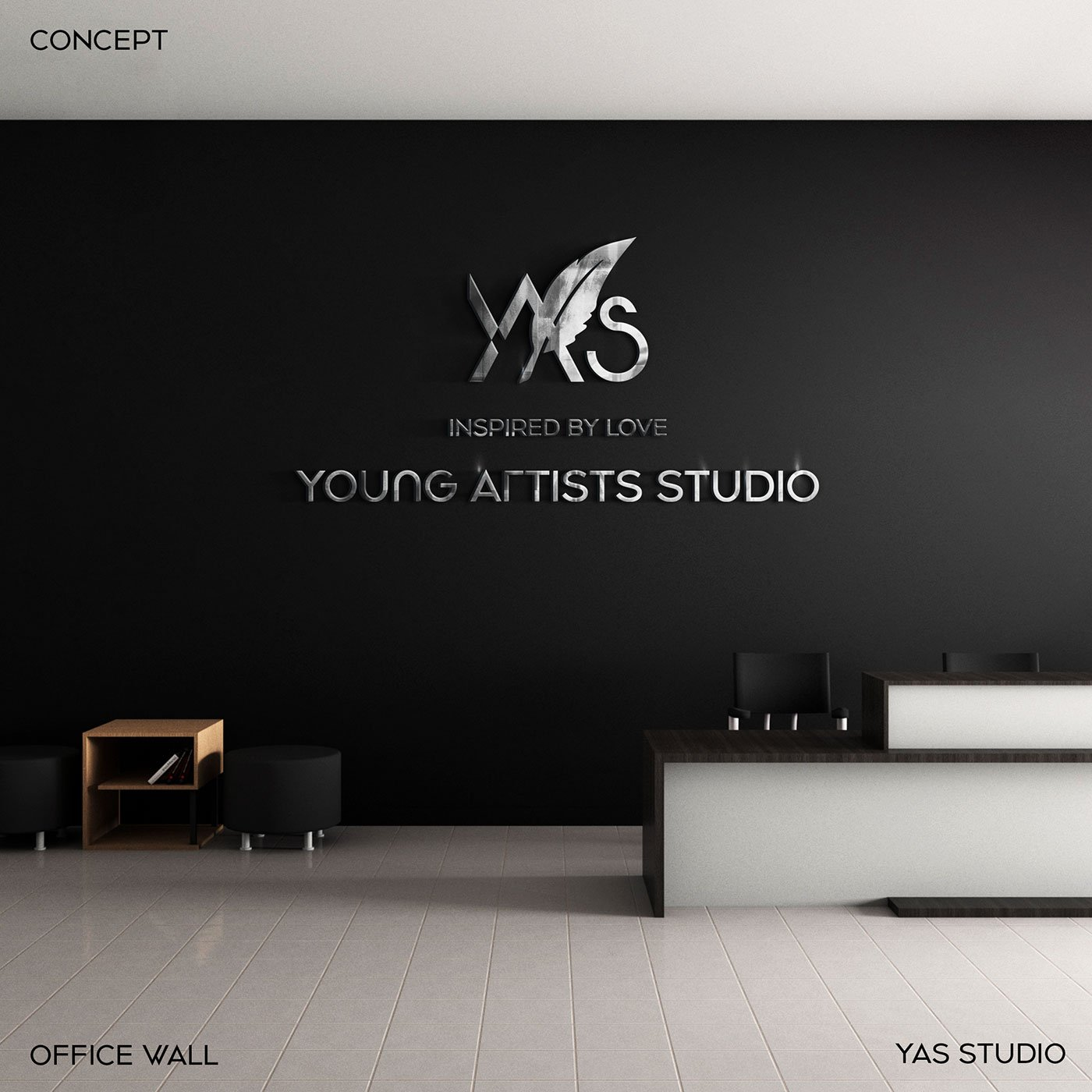 YAS Young Artists Studio brand-logo-showcase-mockup-billboard-branding-visual-identity-design Vietnam-graphic-design-and-branding-web-design-professional-logo-design-company-logo-design-Helixgram