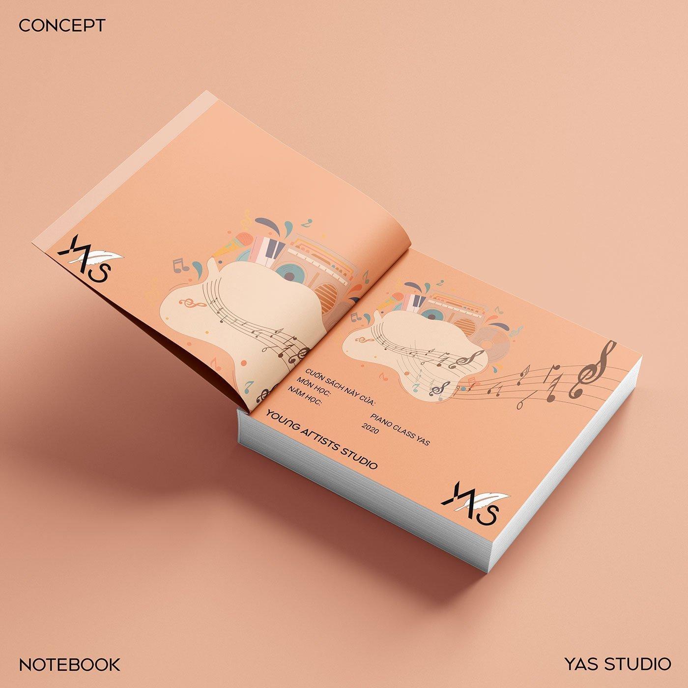 bìa sách nhạc YAS Young Artists Studio-quảng-bá-thương-hiệu-thiết-kế-branding-cho-thương-hiệu YAS-xây-dựng-logo-doanh-nghiệp-thiết-kế-ấn-phẩm-quảng-cáo-thương-hiệu-thiết-kế-Helixgram