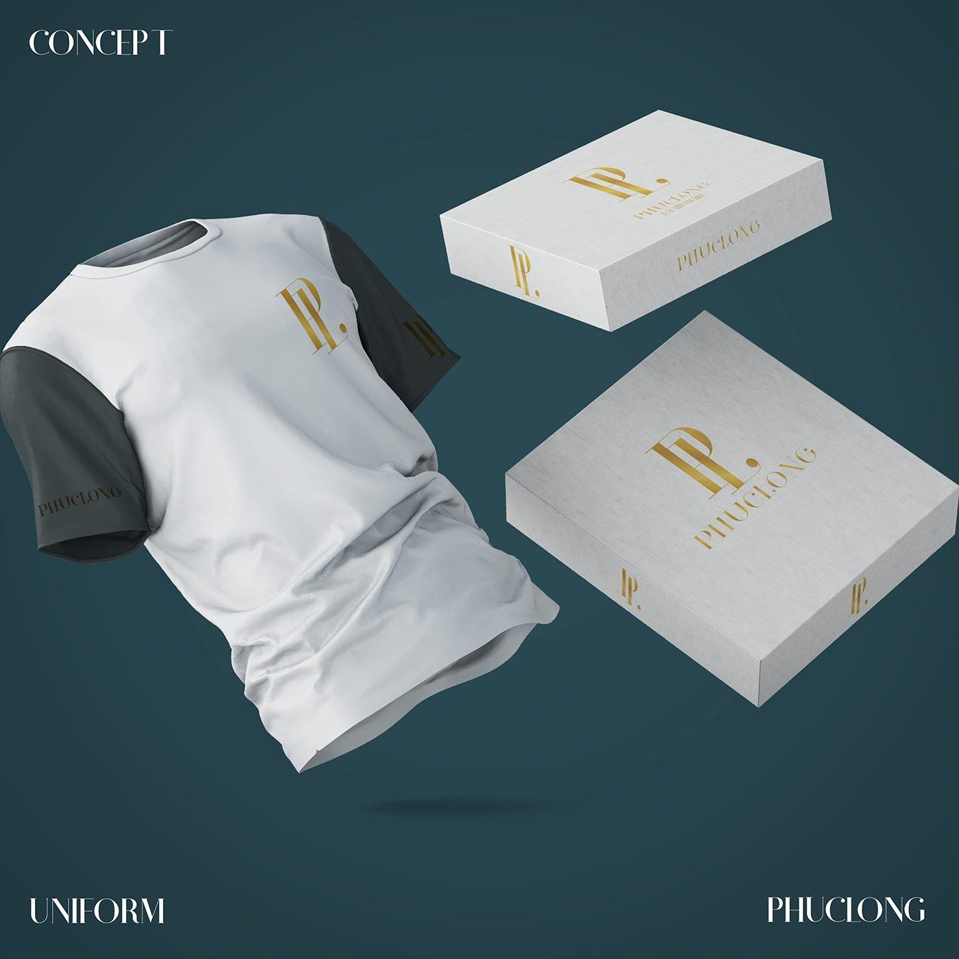brand uniform design identity branding design branding logo design in saigon visual identities in ho chi minh corporate logo logo graphic design and branding web design in Saigon Helixgram
