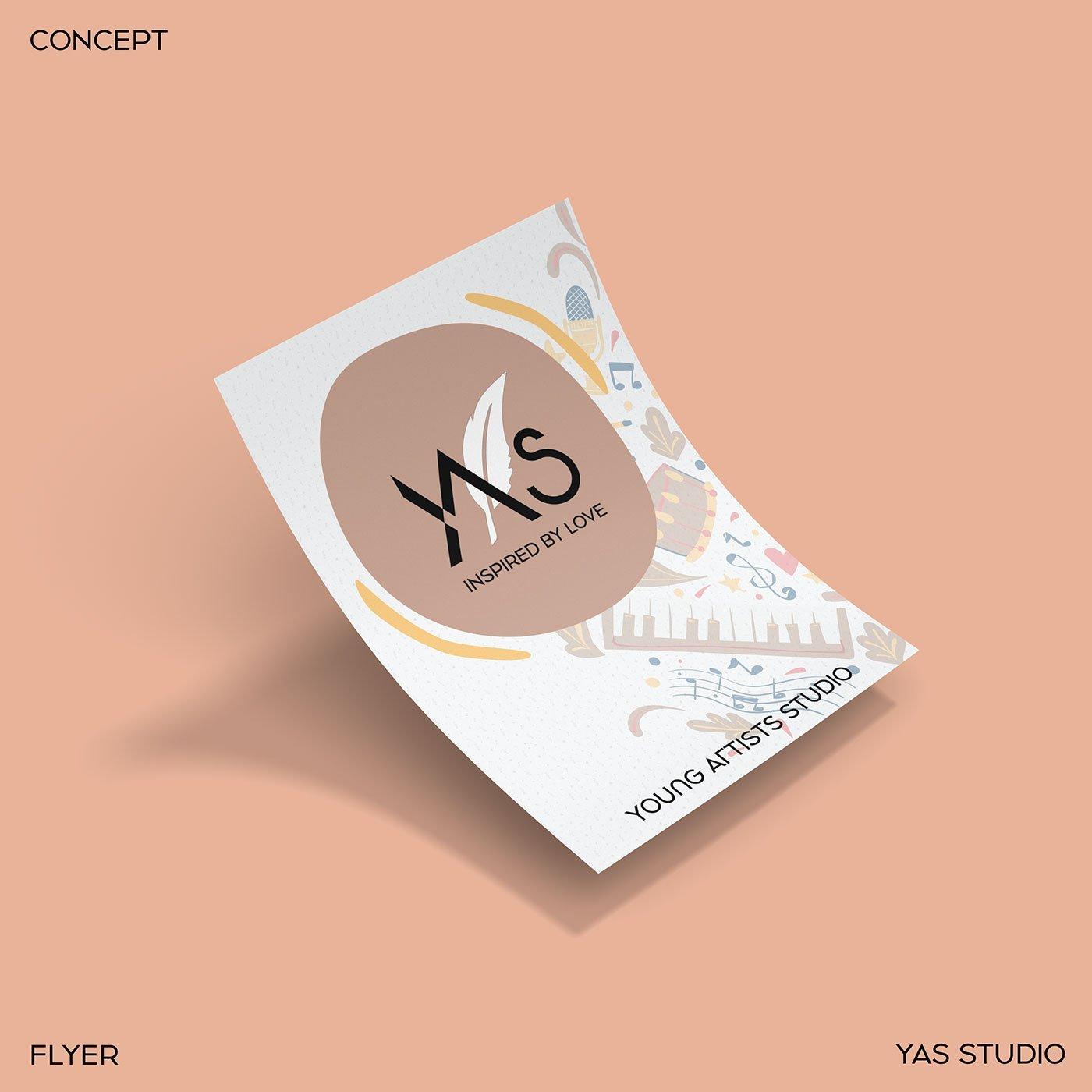 tờ rơi flyer YAS Young Artists Studio-quảng-bá-thương-hiệu-thiết-kế-branding-cho-thương-hiệu YAS-xây-dựng-logo-doanh-nghiệp-thiết-kế-ấn-phẩm-quảng-cáo-thương-hiệu-thiết-kế-Helixgram