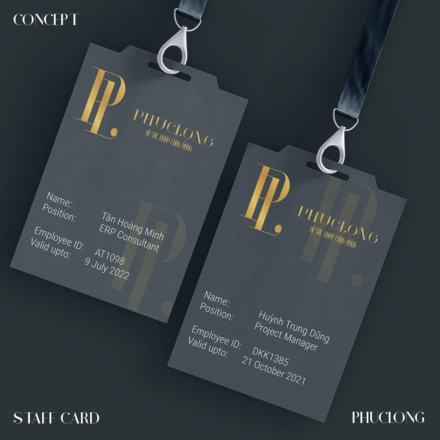 thẻ đeo nhận viên thiết kế branding cho thương hiệu thiết kế nhận diện thương hiệu xây dựng logo doanh nghiệp thiết kế ấn phẩm quảng cáo thương hiệu thiết kế Helixgram Saigon