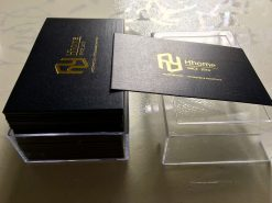 Squared-Corners-Gold-foil-business-card-design-and-printing-lulxury-name-card-on-art-paper-material-printing-business-card-Saigon-by-Helixgram