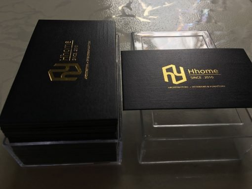 Squared-Corners-Gold-foil-business-card-printing-lulxury-name-card-on-art-paper-material-printing-business-card-Saigon-by-Helixgram-Design