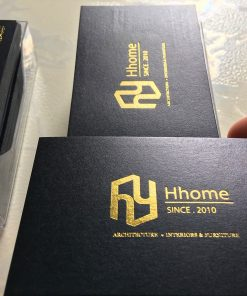 Squared-Corners-business-card-with-gold-foil-design-and-printing-lulxury-name-card-on-art-paper-material-printing-business-card-Saigon-by-Helixgram