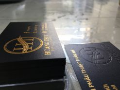 Gold-Foil-Business-Card-with-Embossed-Letters-on-Black-art-paper-material-Hoang-Thuy-design-and-printing-lulxury-name-card-in-Saigon-by-Helixgram-Design-5