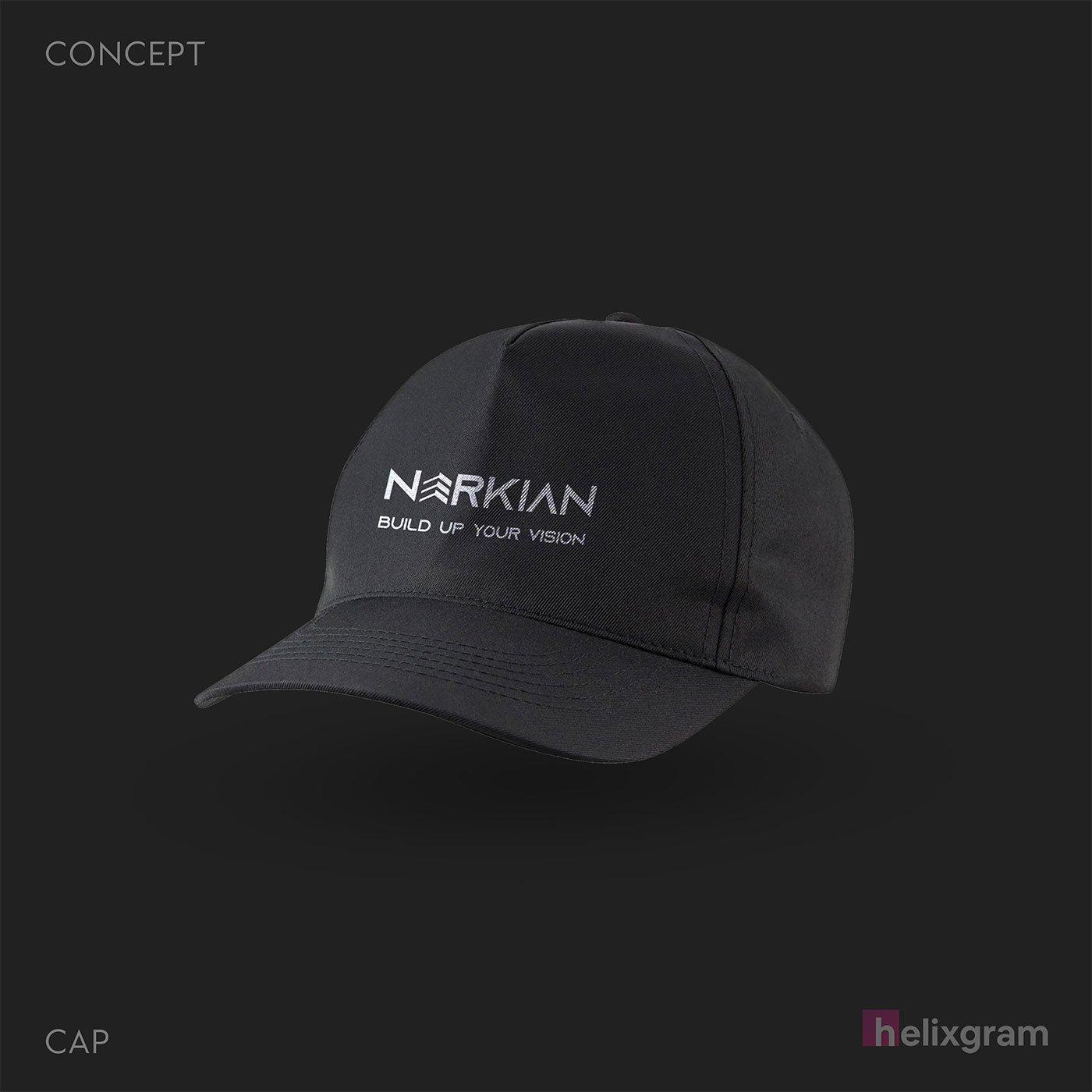 Brand-Identity-Cap-Appareal-Cover-Narkian-design-visual-identity-design-package-corporate-identity-design-logo-design-flyer-poster-book-cover-design-web-design-digital-advertising-Helixgram