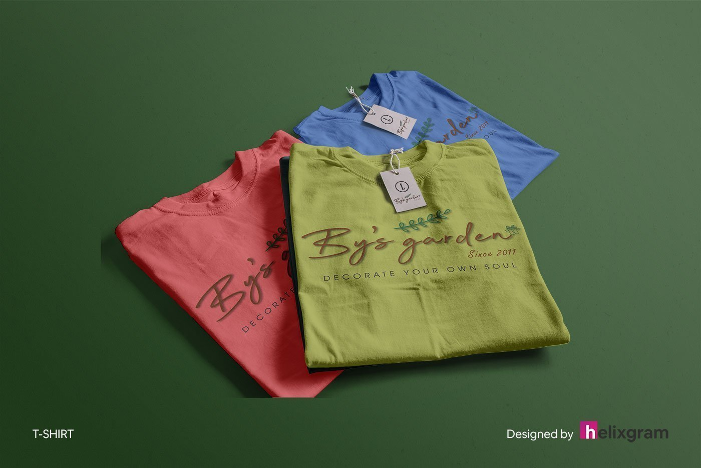 Brand-Identity-Design-Apparel-T-shirt-By's-Garden-visual-identity-design-package-corporate-identity-design-logo-design-flyer-poster-book-cover-design-web-design-digital-advertising-design-Helixgram