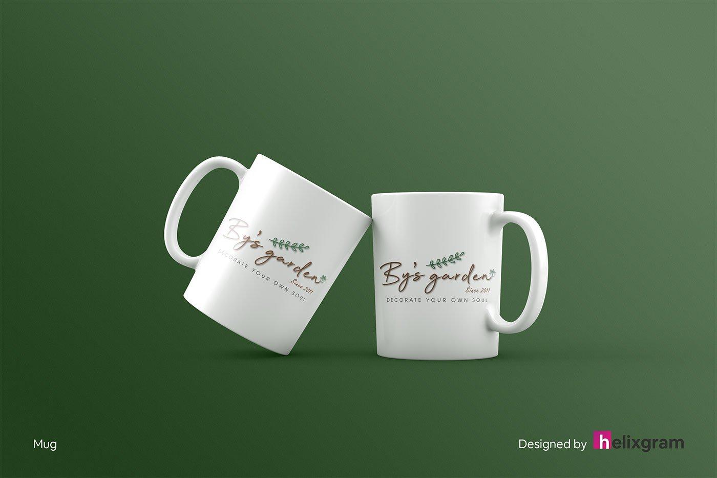 Brand-Identity-Design-mug-cup-By's-Garden-visual-identity-design-package-corporate-identity-design-logo-design-flyer-poster-book-cover-design-web-design-digital-advertising-design-Helixgram