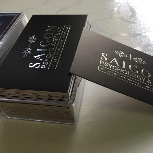 Silver Foil Stamping Business Cards Hot stamping Business Card Silver Foil Calling Cards Business Card Printing Name Card Design and Printing Graphic Design Online Printing Helixgram